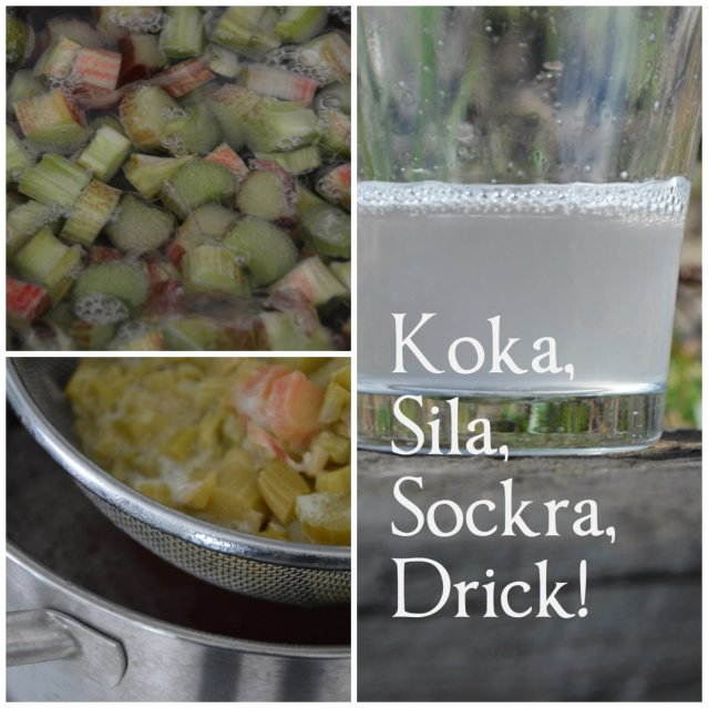 Koka, sila, sockra, drick!