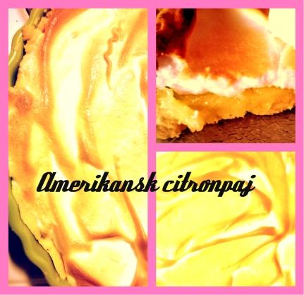 amerikansk citronpaj