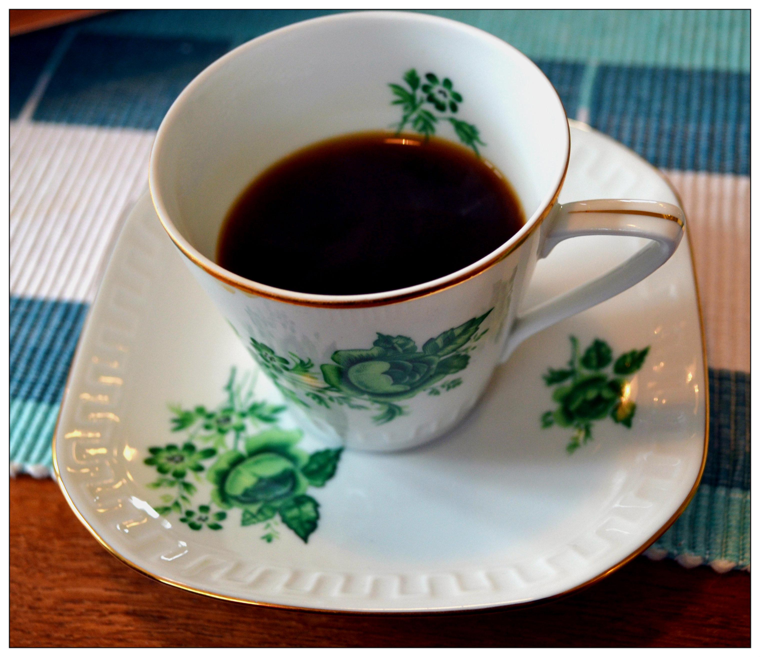 hur mycket kaffe per kopp